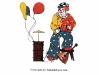 картинный материал для закрепления звукопроизношения - клоун