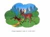 картинный материал для закрепления звукопроизношения - олень