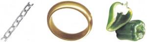цепь кольцо перец
