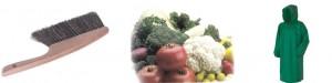 щетка овощи плащ картинный материал