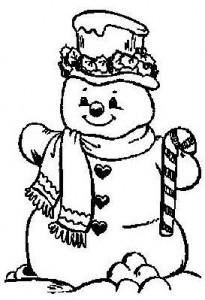 конспект зима упражнение снеговик