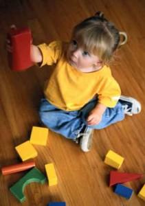 ребенок в речевом саду