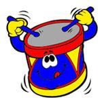 упражнение барабан