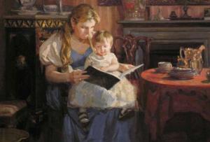 читать книги ребенку развивать речь
