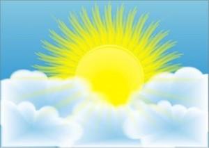 физминутки для детей солнышко